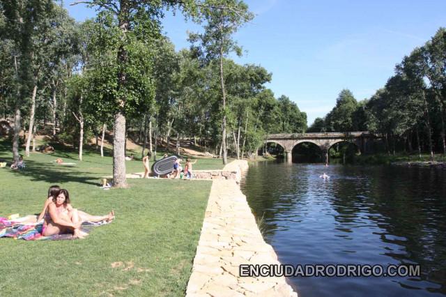 Inauguradas Las Piscinas Naturales De Villasrubias Un Vergel En