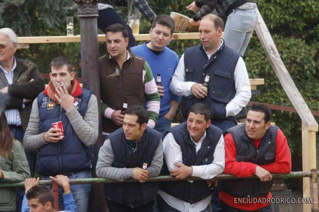 Juegos De Baño Capea:Gran juego de las vaquillas en la primera capea de La Romería de